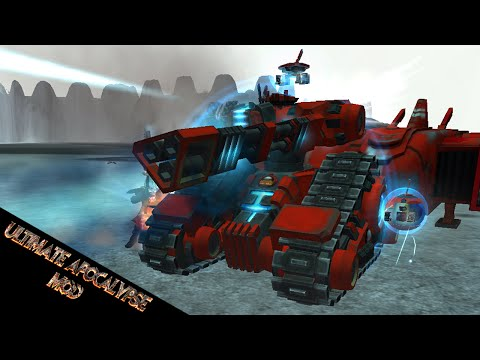 New Update! New Hazard Eel Reclamation Vehicle for Tau! - Dawn of War Ultimate Apocalypse Mod