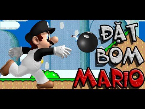 Game Mario đặt boom - Video hướng dẫn chơi game 24h