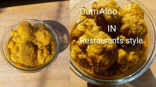 Restaurants style dum aloo || aloo dum at home || how to make dum aloo at home.