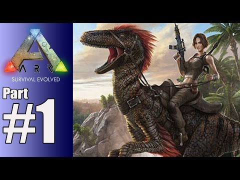 Arc Survival Evolved Walkthrough Part 1 - Walking With Dinosaurs - Gameplay Lets Play