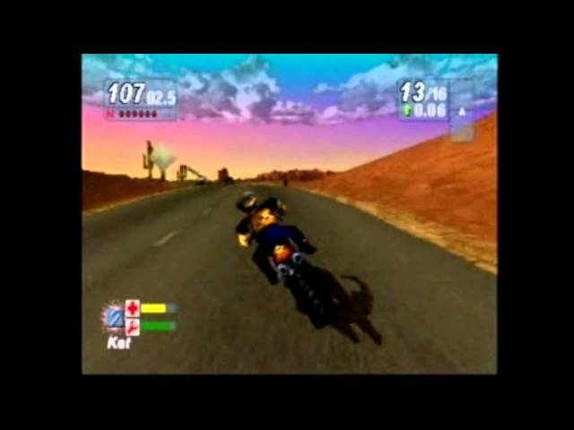 (PS1) Road Rash: Jailbreak All Captain Races