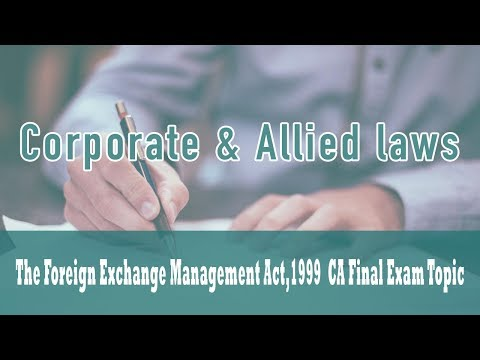 The Foreign Exchange Management Act,1999 | Current Account Transactions | Rule 3 |Schedule 1 |Part 5