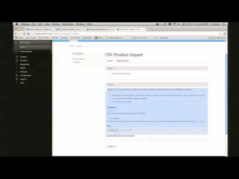 Importing with the Feeds module (Drupaldelphia 2012)
