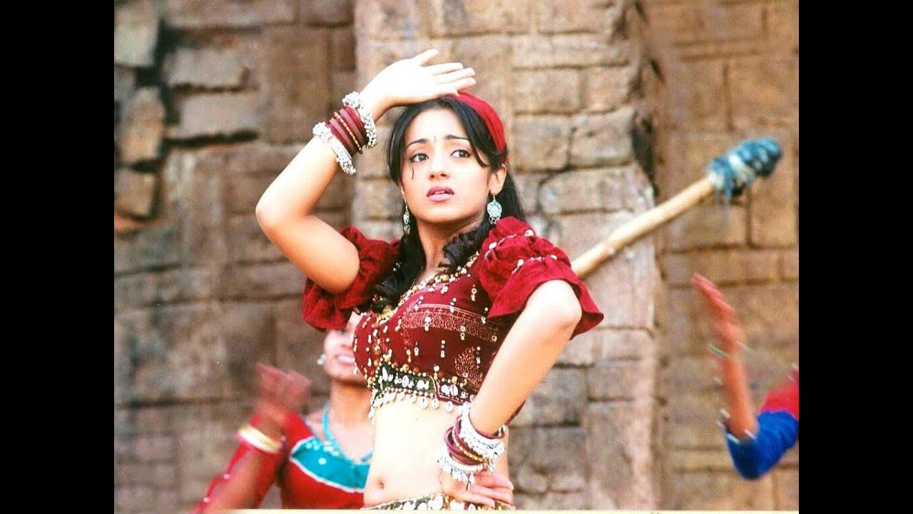 Pournami Songs With Lyrics - Muvvala Navvakala Song - Prabhas, Trisha, Charmi
