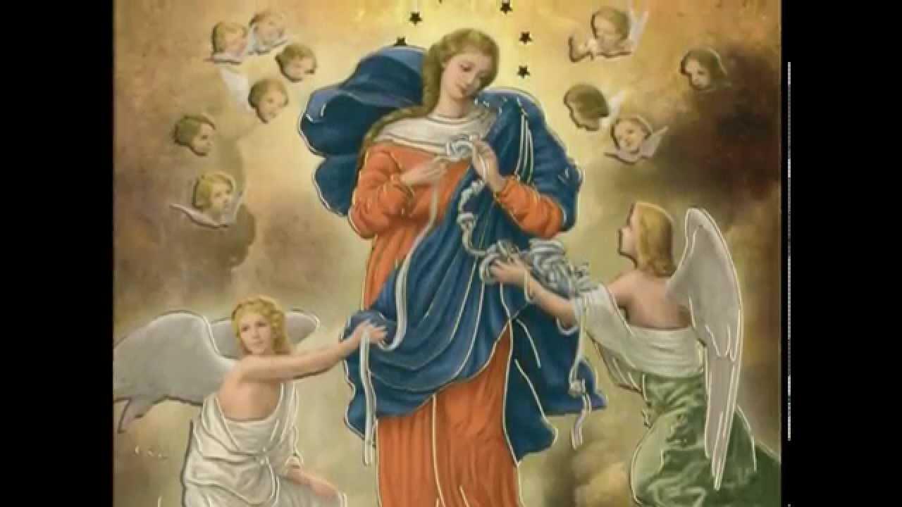 Mary, Untier Of Knots Pauline Books And Media Digital