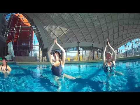 Aqua Yoga in der Toskana Therme Bad Sulza