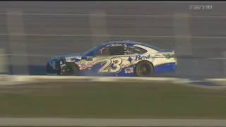 Monster Energy NASCAR Cup Series 2017. Daytona 500. Joey Gase Crash