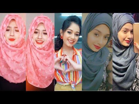 Jannat Zubair Arishfa Khan Tiktok Videos In Hijab | Riyaz, Avneet |Being Viral