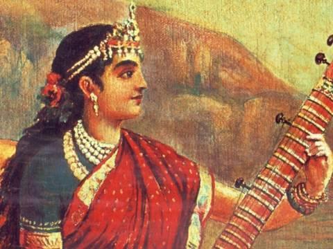 Tara Devi by Raja Ravi Varma
