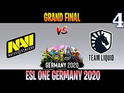 NAVI Vs Liquid Game 4 | Bo5 | GRAND FINAL ESL ONE Germany 2020 | DOTA 2 LIVE