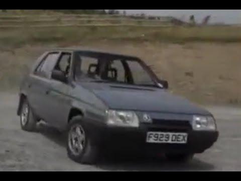 skoda favorit car Review from 1989