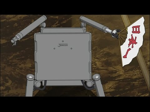 Ghost in the Shell: Stand Alone Complex funny scene with CEO Iwasaki of Meditech