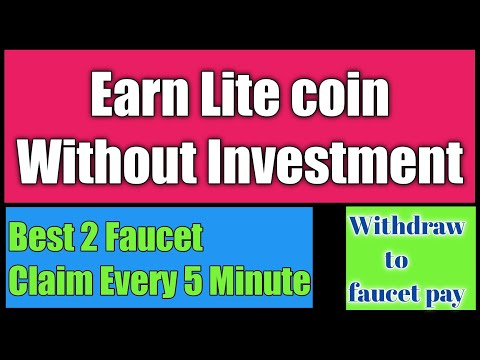 Earn Litecoin without investment/how to earn cryptocurrency without investment