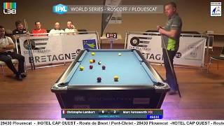 17_18 finale GLOBALE tournoi IPA WORLD SERIES PLOUESCAT Lambert vs Farnsworth
