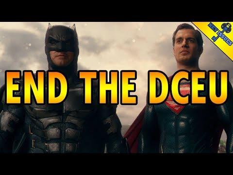 End The DCEU: Henry Cavill & Ben Affleck Quit DC Films