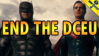 End The DCEU: Henry Cavill & Ben Affleck Quit DC Films