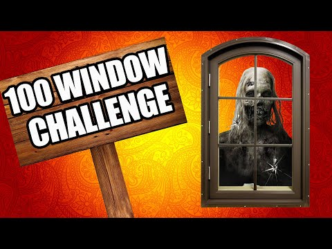 THE 100 WINDOW CHALLENGE (Call of Duty Zombies) thumbnail
