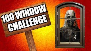 THE 100 WINDOW CHALLENGE (Call of Duty Zombies)