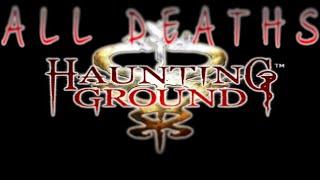 Haunting Ground : Demento | Deaths Scenes - GoR [1080p HD]