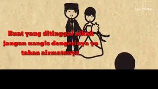 Gambar cover Menjaga jodoh orang - Wawan Dcozt feat tasya (lirik video)
