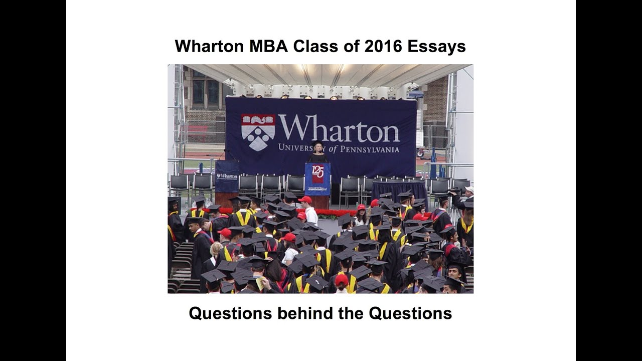 what do you hope to gain professionally from the wharton mba