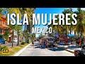 Exploring Isla Mujeres By Golf Cart | Mexico [4K]