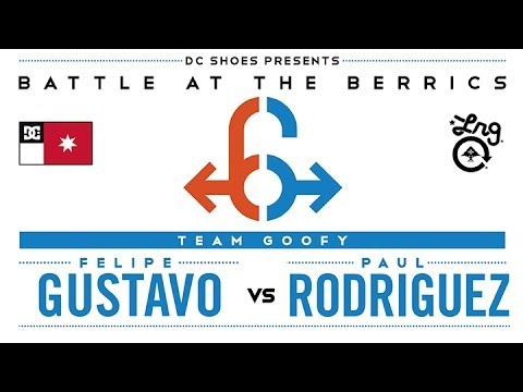 Felipe Gustavo Vs Paul Rodriguez: BATB6 - Round 2
