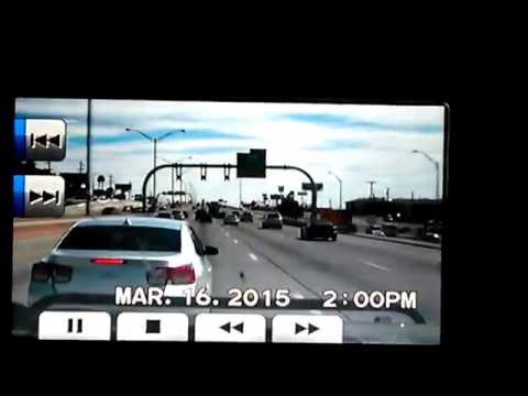 Road Rage On i-10 In El Paso, Texas
