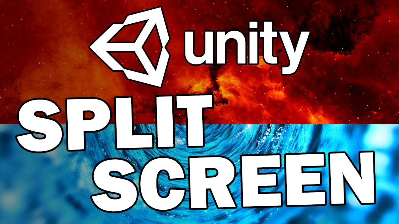 How To Make A Split Screen for Multiplayer in Unity!