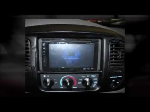 Ford F  Lightning Jvc Double Din Navigation Install