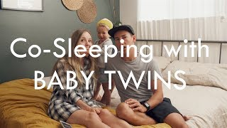 co sleeping with baby twins and qa