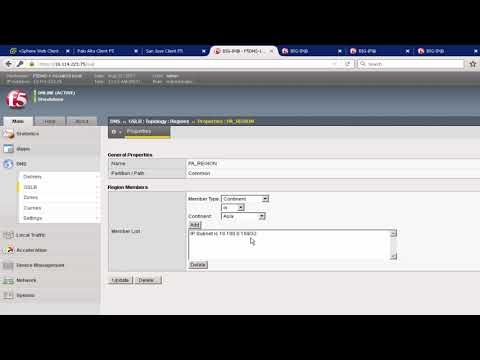 Multi-site with Cross-VC NSX Leveraging F5 BIG-IP DNS and Palo Alto Networks Security