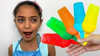يجعل الفاكهة بوظة / العاب طبخ مضحك للأطفال Heidi & Zidane