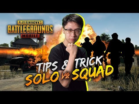 TIPS & TRICK BARBAR 1 VS SQUAD! - PUBG MOBILE INDONESIA