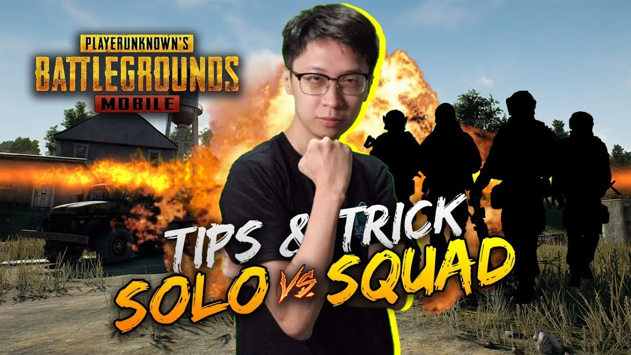 TIPS & TRICK BARBAR 1 VS SQUAD! - PUBG MOBILE INDONESIA