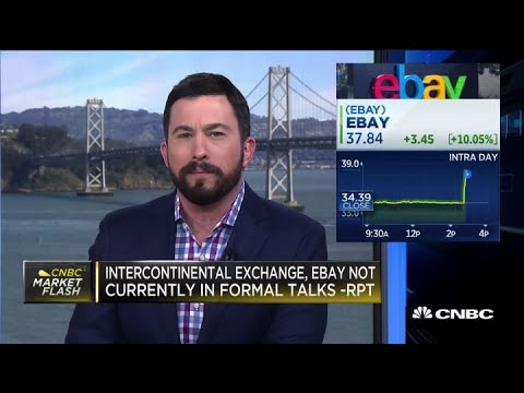 Intercontinental Exchange Has Approached Ebay About Takeover: Report