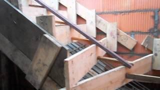 Albatros MG Projekt - szalunek pod schody betonowe