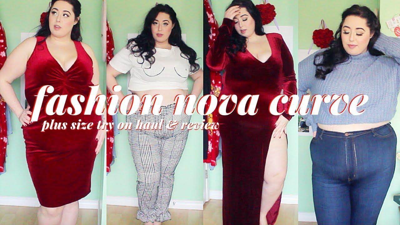 f88ceaf761e Fashion Nova Curve Try On Haul - YouTube