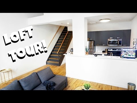 EMPTY LOFT APARTMENT TOUR !!!