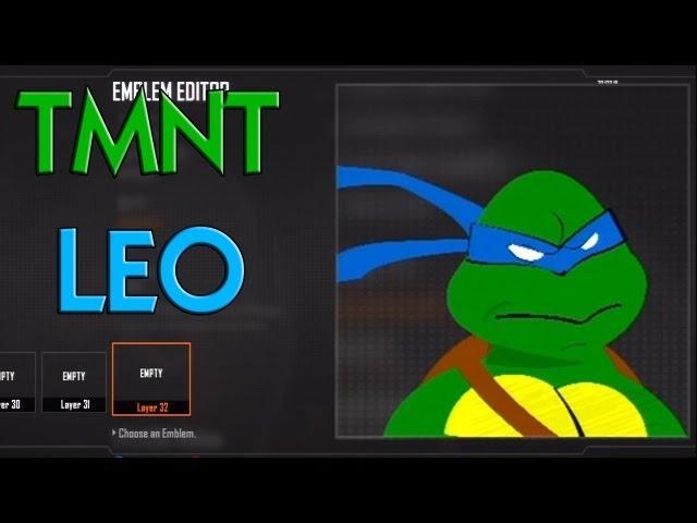 Black Ops 2   Teenage Mutant Ninja Turtles Emblem Tutorial
