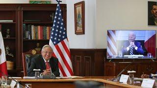 Llamada bilateral entre México y Estados Unidos