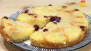 Pineapple Cake | Easy Pineapple Upside-Down Cake | पाइनएप्पल केक  | Homemade Cake | Food Tak