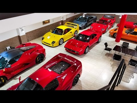 The Most Pristine Ferrari Collection in Japan