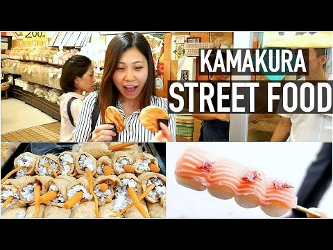 Interesting Japanese Street Food And Travel Guide In Kamakura | Kamakura Japan Travel Guide
