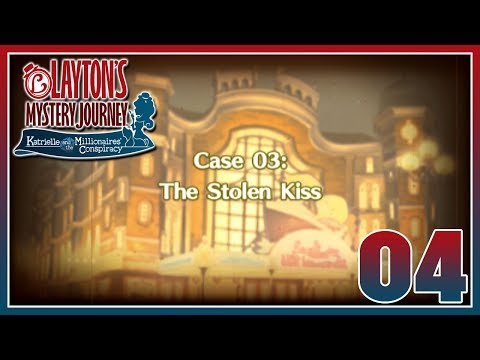 Layton's Mystery Journey - Case 3: The Stolen Kiss