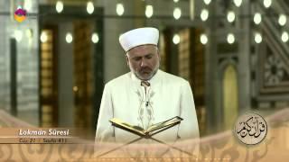 Mukabele Osman Şahin 21.Cüz - TRT DİYANET 2017 Video