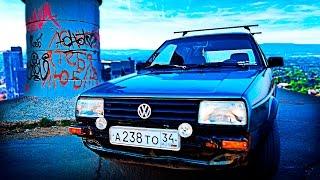 Обзор VolksWagen 1988 Golf 2. Моя первая машина в 18 лет.