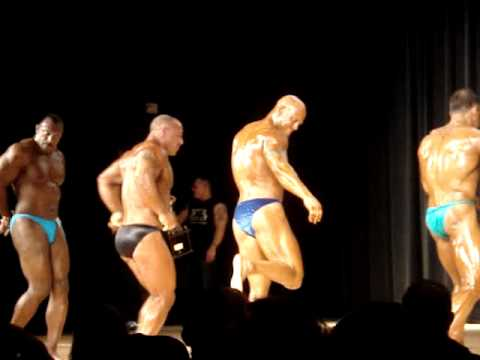 Master Bodybuilding Posedown At The 2011 NPC Suburban In Paterson, New Jersey