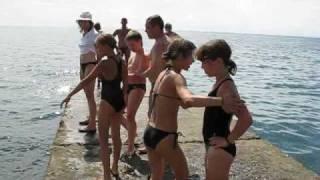 спортивный лагерь Малый  Маяк - Юные пловцы