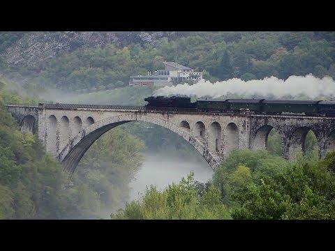 Stunning Steam Railway In Slovenia